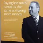 Paying less taxes is exactly the same as making more money.
