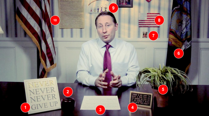 This Is Really Rob Astorino's Desk
