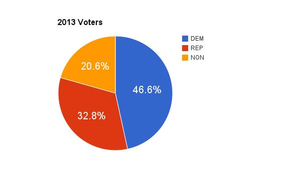 2013 voters